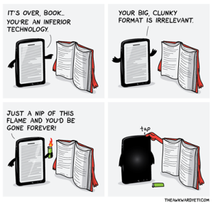 book to ereader