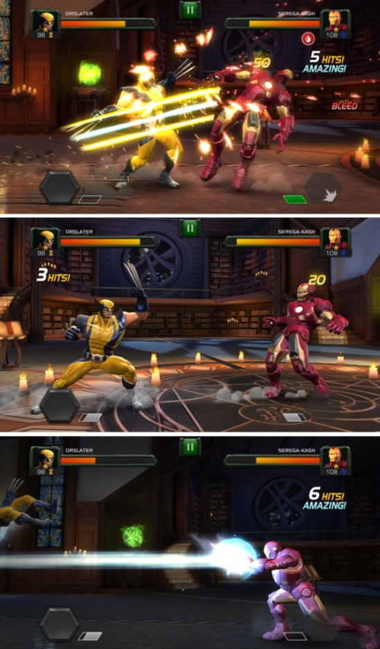 Wolverine vs Ironman