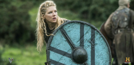 lagertha shield close up