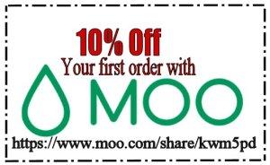 Moo 10% off